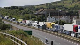 15-hour tailbacks in UK as France heightens checks