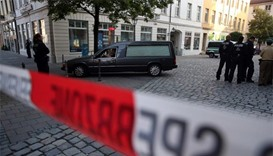 Syrian blows himself up outside German music festival, 12 wounded