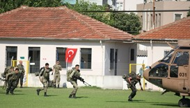 Turkish commandos search for missing military personnel suspected of being involved in the coup atte