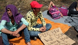 Migrants end hunger strike at Serbia-Hungary border