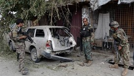 Afghan government 'loses 5% of territory in four months'