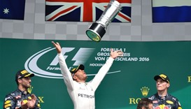 Hamilton surges clear with win at Hockenheim