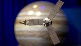 NASA spaceship barrels toward Jupiter, 'planet on asteroids'