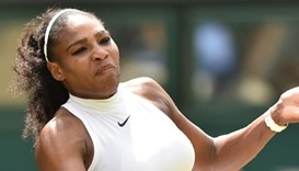 US player Serena Williams