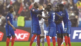 France hammer Iceland to book Germany showdown