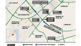 Closure of Al Thumama junction for 36 hours