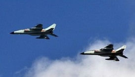 Chinese, Japanese warplanes in close encounter