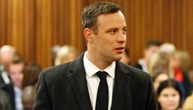 South African Paralympic gold medallist Oscar Pistorius