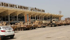 Suspected jihadists seize airport army HQ in Yemen's Aden