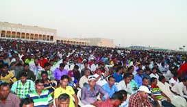 Thousands take part in Eid celebrations across Qatar