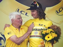 Legend Poulidor as popular as ever on Tour