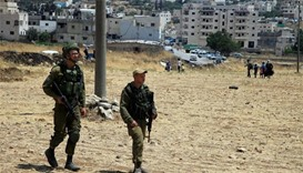 Israel tightens security near Hebron, angering Palestinians
