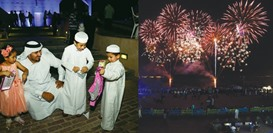 Fireworks and goodies for all at Katara