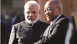 India, S Africa bilateral trade up by 380%: Modi