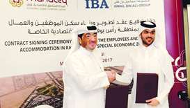 Manteq, IBA sign deal to build QR550mn accommodation complex