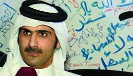 HE Sheikh Abdulrahman bin Hamad al-Thani, CEO of Qatar Media Corporation.