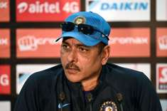 Shastri named India coach till 2019 WC