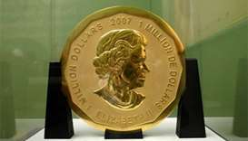 Two arrested in Berlin over theft of 100-kg gold coin