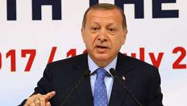 Lifting emergency rule currently out of question, says Erdogan
