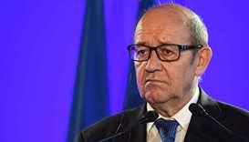 Qatar blockade: France's Le Drian to visit Gulf states