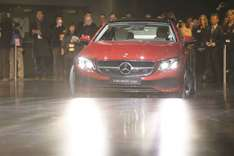 Mercedes widens lead over BMW with trendy new E-Class and SUVs