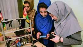 Afghan girls to attend US robotics event after visa U-turn