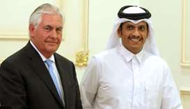 Tillerson leaves Gulf after crisis talks
