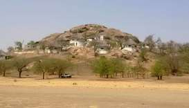 A general view of a hill is seen in Waza, Cameroon.  February 17, 2015 file picture