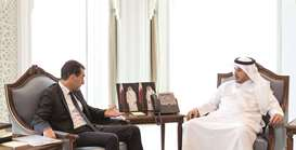 PM holds talks with French envoy