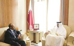 Emir meets Ethiopian defence minister