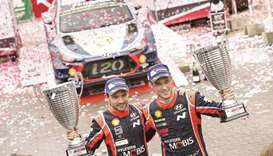 Hyundai Motorsport celebrates sixth WRC win