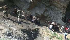 16 pilgrims killed in bus crash in northern India