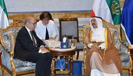 Gulf crisis: French FM holds talks in Kuwait