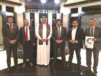 Pakistani community representatives meet Editor-in-Chief of Gulf Times