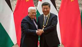 China says its committed to peace in the Middle East