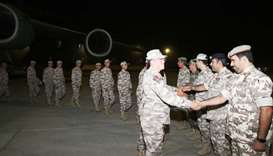 Sixth batch of Turkish troops arrives in Doha