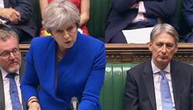 May fends off jokes about her future before summer break