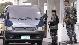 Philippines presidents' security guards