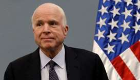 US Senator John McCain diagnosed with brain cancer