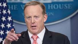 White House spokesman Sean Spicer resigns after brief tenure