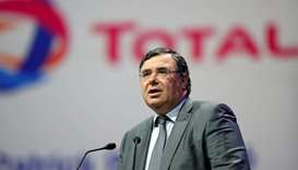 Patrick Pouyanne, Chief Executive Officer of Total