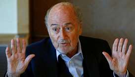 Blatter plans to visit soccer World Cup in Russia
