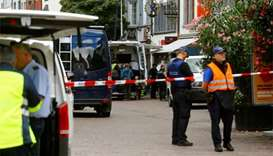 Chainsaw attacker wounds five people in Swiss town