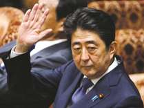 Japan PM Abe denies favours for friend amid falling support