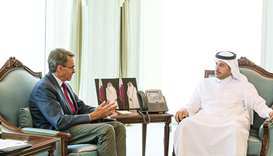 PM discusses Gulf crisis with HRW chief