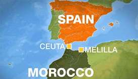 Man with knife attacks police on Morocco-Spain border
