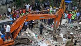 Mumbai building collapse kills six, many feared trapped