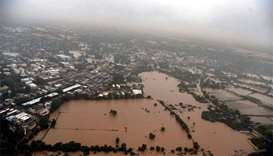 Rescuers on war footing as flooding hits Indian states