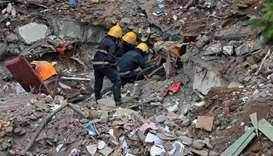Owner arrested after Mumbai building collapse kills 17