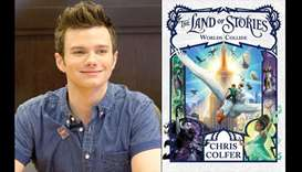 How Chris Colfer went from Glee to author of books for middle-schoolers
